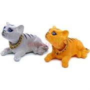 Кошка с качающейся головой в авто цена за 12 шт