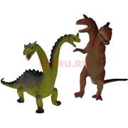 Динозавры друхголовые твердые 12 шт/уп