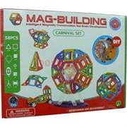 Конструктор магнитный Mag-Biulding 58 деталей (24 шт/кор)