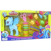 My Little Horse набор пластилина с формочками Play-Toy