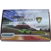 Kinsmart машинка Lamborghini Huracan LP620-2 Super Trofeo