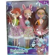 Куклы Enchantimals набор из 3 шт (A209)