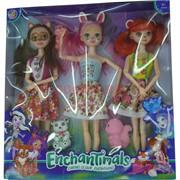 Куклы Enchantimals набор из 3 шт (8180)