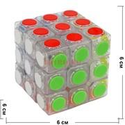 Игрушка Кубик головоломка 6 см «таблетка»