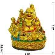 Хотей с детьми под золото 9 см (NS-612A)