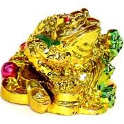 Жабка под золото с жезлом Жуи (NS-432)
