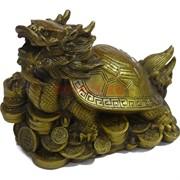Дракон черепаха из бронзы
