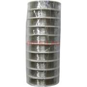 Проволока для бисера 0,6 мм 30 м стальная цена за 10 шт
