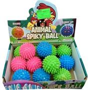 Мячик Animal Spiky Ball светящийся цена за 12 шт