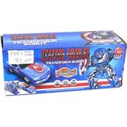 Машина трансформер робот Captain America (8993)