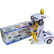 Полицейская машина робот трансформер (0906-37)