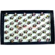 Кольца «Хамелон кубики» цена за 50 шт (1582)