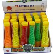 Пульки 6 мм цветные 700 шт 24 банки