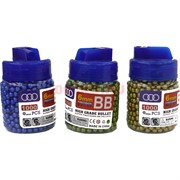 Пульки 6 мм 1000 шт цветные 12 банок