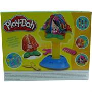 Набор пластилина (SM-04) с формами Play-Doh для парикмахерской