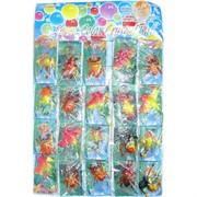 Растущие пауки, скорпионы 20 шт/уп