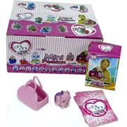 Игрушки Chi-Chi Love собачки в сумке с картами 12 шт/уп