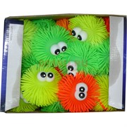 """Игрушка """"Ежики с глазами"""" светящиеся, цена за 36 шт"""