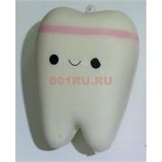 Сквиши «зуб» антистресс игрушка