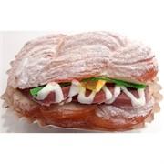 Сквиши «булочка с колбасой» 6 шт/уп
