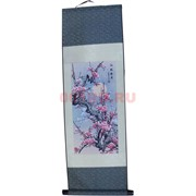 Панно шелковое 90x30 см «Сакура» (S-051)
