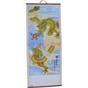 Панно из рисовой бумаги 77x30 см «Дракон» (W-112)