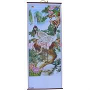 Панно из рисовой бумаги 77x30 см «Цапли» (W-610)