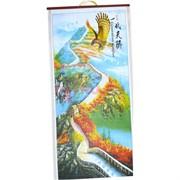 Панно из рисовой бумаги 77x30 см «Великая Китайская Стена»