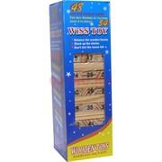 Игра Дженга деревянная с цифрами 48 блоков