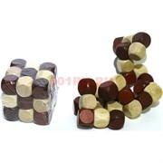 Головоломка деревянная «Кубик»