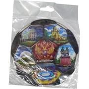 Магнит в виде футбола 6 шт «Екатеринбург»