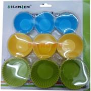 Силиконовые формы (SH-46) для кексов 18 шт (96 уп/кор)