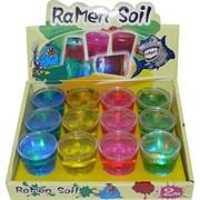 Лизун мялка в стаканчике RaMen Soil 12 шт/уп