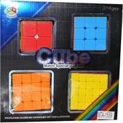 Кубики головоломки 4 шт