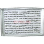 Кольца летние 100 шт (HR-K-12) серебро со стразами