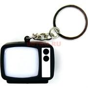 Брелок светящийся со звуком «Телевизор» 12 шт/уп