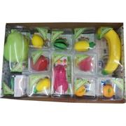 Сквиши фрукты 24 шт/уп