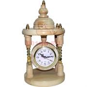 Часы из натурального камня 30 см