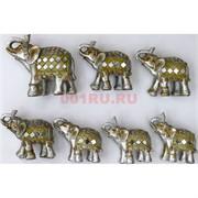 7 слонов набор (KL-1336) из полистоуна