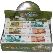 Ластик «рубли» 30 шт/уп
