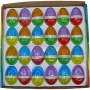 Лизун мялка Яйцо двухцветное 24 шт/уп