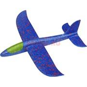 Игрушечный самолет из пенопласта малый