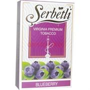 Табак для кальяна Шербетли 50 гр «Blueberry» (Serbetli Черника)