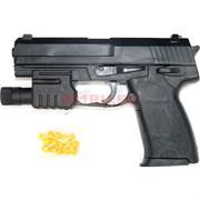 Пистолет для стрельбы 6мм пульками (G051) с лазерным прицелом