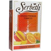 "Табак для кальяна Шербетли 50 гр ""Апельсин с манго"" (Virginia Tobacco Serbetli Orange-Mango)"