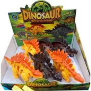 Игрушка музыкальная динозавр стегозавр 6 шт/уп