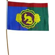 Флаг города Пушкино Московской области 40x60 см 12 шт/уп