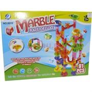 Настольная игра Marble Race Deluxe (60 деталей и 30 шариков)
