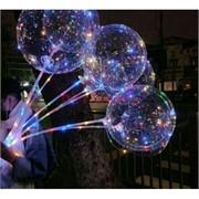 Светящийся шар Бобо светодиодный LED на палочке 10 м
