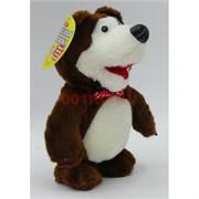 Медведь «повторюшка» игрушка мягкая